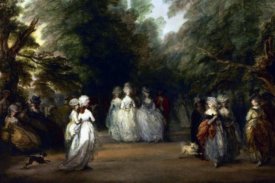 1775-1785年のルイ16世スタイル...